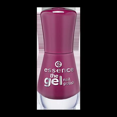 Essence pink nail polish bottle